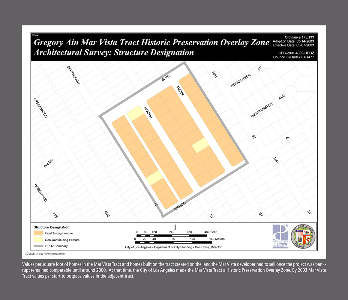 Mar Vista HPOZ Map