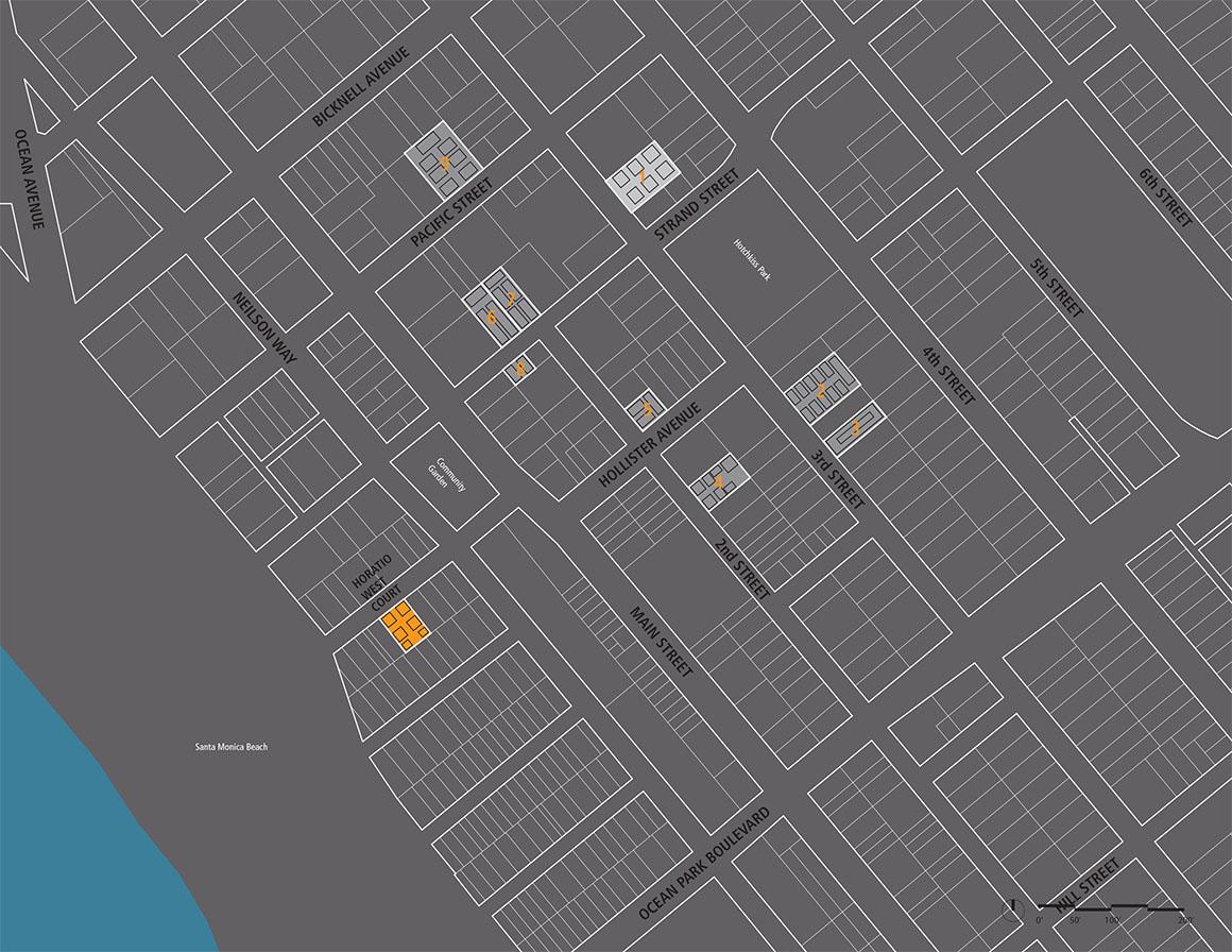 Horatio West Court Neighborhood Map WEB
