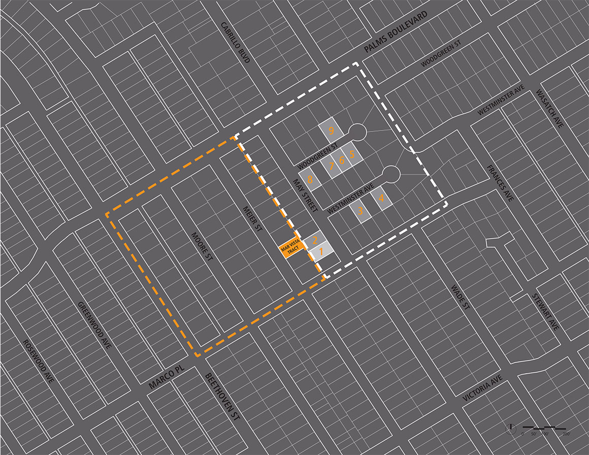 Mar Vista Tract Neighborhood Map 2 WEB